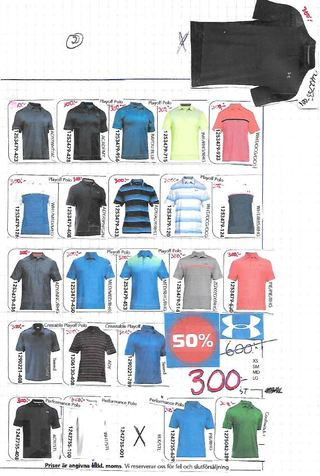 Under Armour 50 %